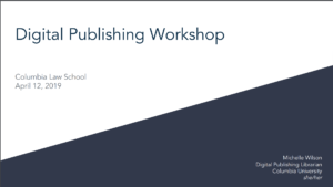 Cover image of Law Editors Workshop Presentation